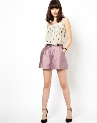 Asos Shorts With Tailored Detail