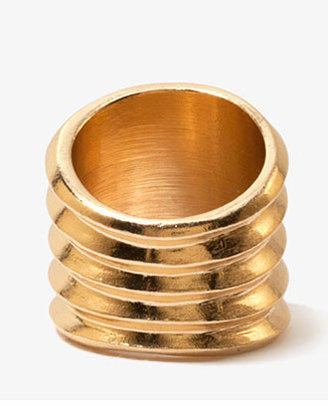 Forever 21 Pleated Metal Knuckle Ring