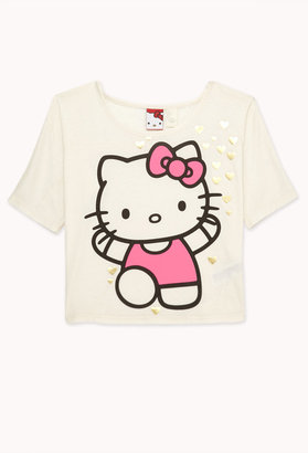 Forever 21 Hello Kitty Lace Tee (Kids)