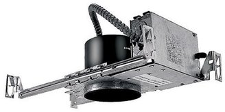 W.A.C. Lighting 4 Inch Premium Low Voltage Electronic Non-IC New Construction Housing - HR-8402E