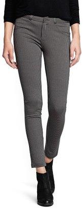 MANGO Houndstooth elastic trousers