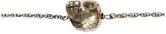 Soixante Neuf Single Pyrite Skull Bracelet