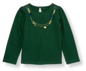 Janie and Jack Key Necklace Top