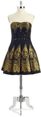 Aidan Mattox Sleeveless Sweetheart A-line Dress