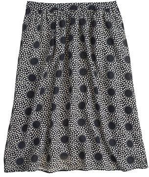 J.Crew Double-dot skirt