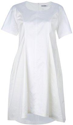 Jil Sander paneled boxy dress