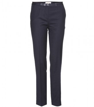 Tory Burch CHRISTY WOOL-BLEND TROUSERS