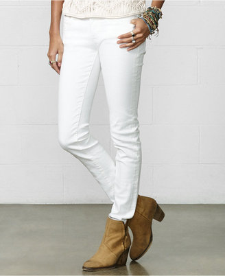 Denim & Supply Ralph Lauren White Wash Skinny Jeans