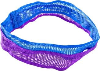 Ulta Purple/Blue Knit Mesh Headwrap 2 Ct