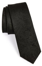 The Tie Bar Silk Paisley Tie