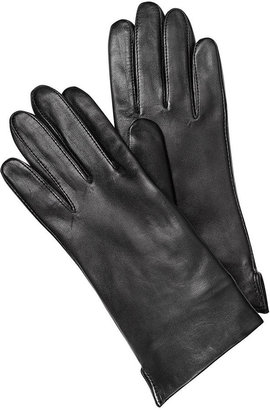 Charter Club Gloves, Faux Fur Lined Leather Gloves