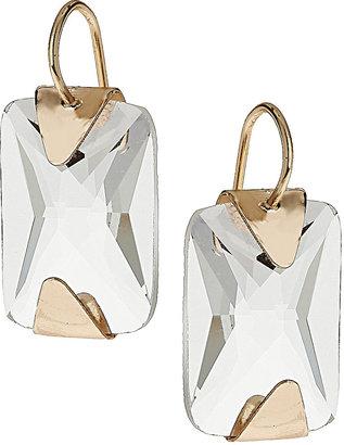 Wallis Rectangle Stone Drop Earrings