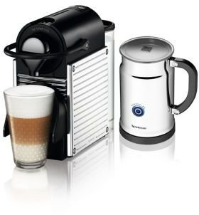 Nespresso Pixie Espresso Maker Bundle