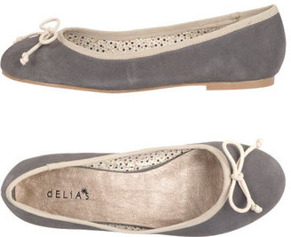 Delia's Matilda Suede Ballet Flat
