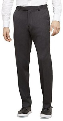 Kenneth Cole Reaction Men's Textured Stria Flat-Front Pant