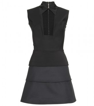 Victoria Beckham MICRO LACE-TIERED DRESS