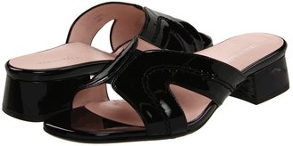 Taryn Rose Olympia (Black Mirror Patent Leather) - Footwear