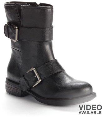 Sugar ladon moto boots - women