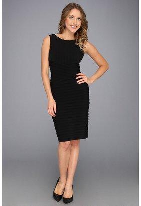 Calvin Klein Sleeveless Dress CD3A1WAD (Black) - Apparel