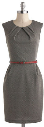 Mystic Fashion Cross The Byline Dress in Roving Reporter