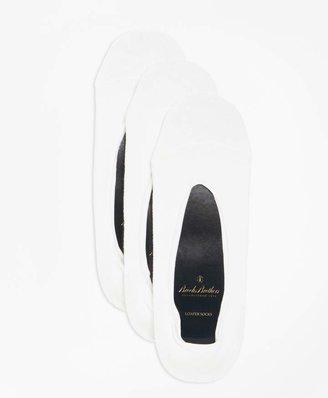 Brooks Brothers Loafer Socks-Three Pack
