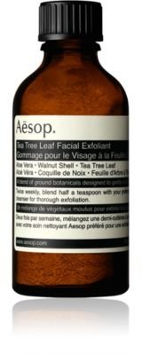Aesop Women's Tea Tree Leaf Facial Exfoliant $40 thestylecure.com