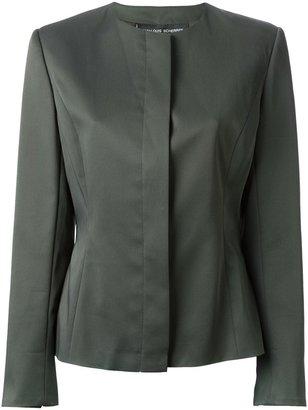 Jean Louis Scherrer Pre-Owned classic crepe jacket