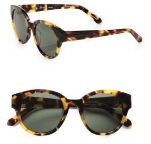 Karen Walker Anywhere Round Sunglasses/Tortoise