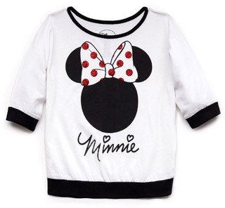 Forever 21 girls Glittered Minnie Top (Kids)