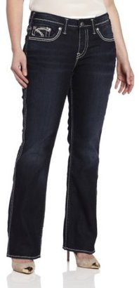 Silver Jeans Juniors Plus-Size Frances 18