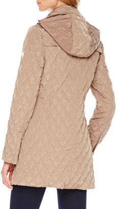 MICHAEL Michael Kors Quilted Puffer Trenchcoat