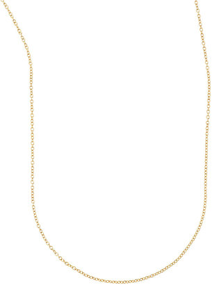 """Sarah Chloe Cable Chain Necklace, 36""""L"""