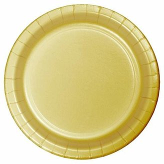 Creative Converting 24ct Gold Snack Plate - Spritz