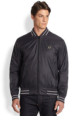 Fred Perry Tipped Nylon Bomber Jacket