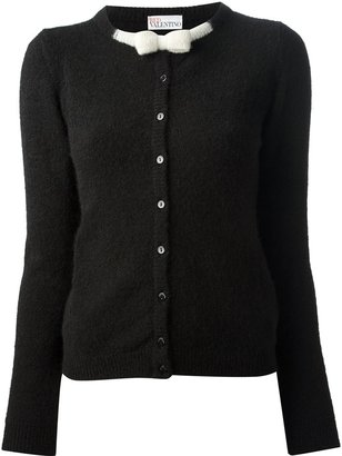 RED Valentino cardigan with bow detail