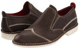 Ecco Adar Slip On (Warm Grey) - Footwear