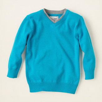 Children's Place V-neck sweater