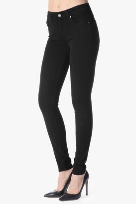 7 For All Mankind The High Waist Skinny In Black