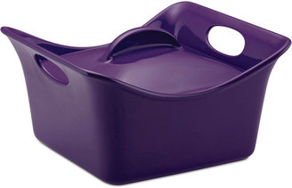 Rachael Ray Stoneware 3.5 Qt. Covered Cassersquare Baking Dish