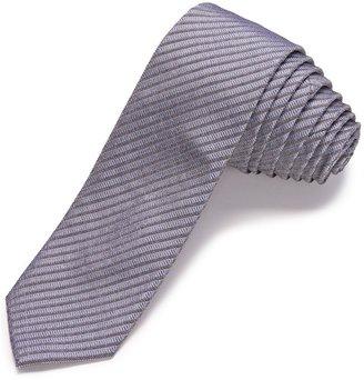 John Varvatos Collection Linxus Stripe Skinny Tie (For Men)