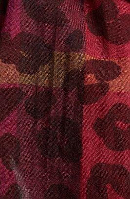 Burberry Animal Print Scarf