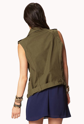 Forever 21 Military-Inspired Vest