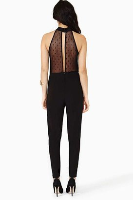 Nasty Gal Hot To Dot Jumpsuit