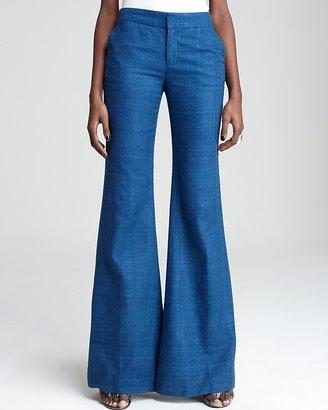 Catherine Malandrino Wide Leg Pant with Side Pocket