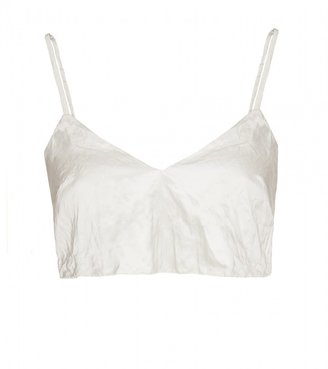 Miu Miu CREASED BRA TOP