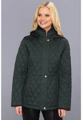 Esprit Mini Quilt with Detachable Hood (Coco Green) - Apparel