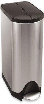 Simplehuman 30-Liter Butterfly Step Trash Can