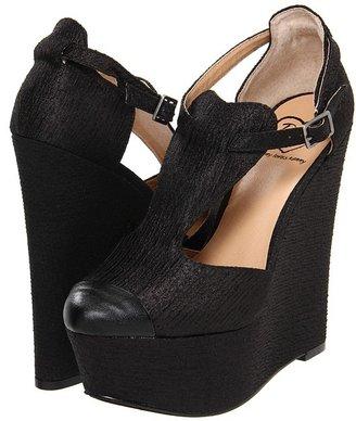 Penny Loves Kenny Nira (Black Fabric) - Footwear