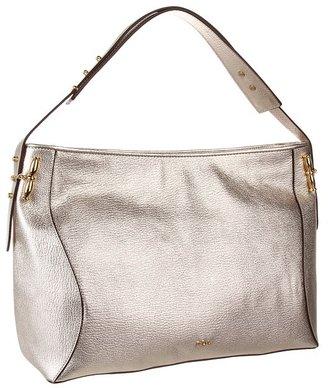 Lauren Ralph Lauren Amalfi E/W Shoulder Bag (Gold) - Bags and Luggage
