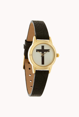 Forever 21 Street-Chic Cross Watch